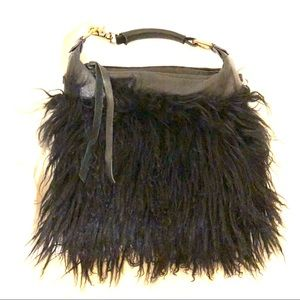 Foley + Corinna Bags - Authentic Mongolian fur Foley and Corinna  purse.